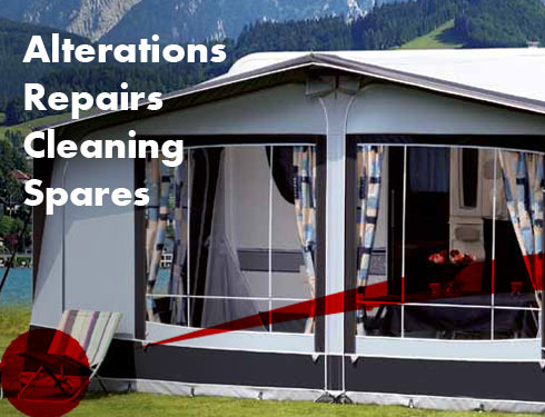 Awning repairs and alterations forcaravans and motorhomes