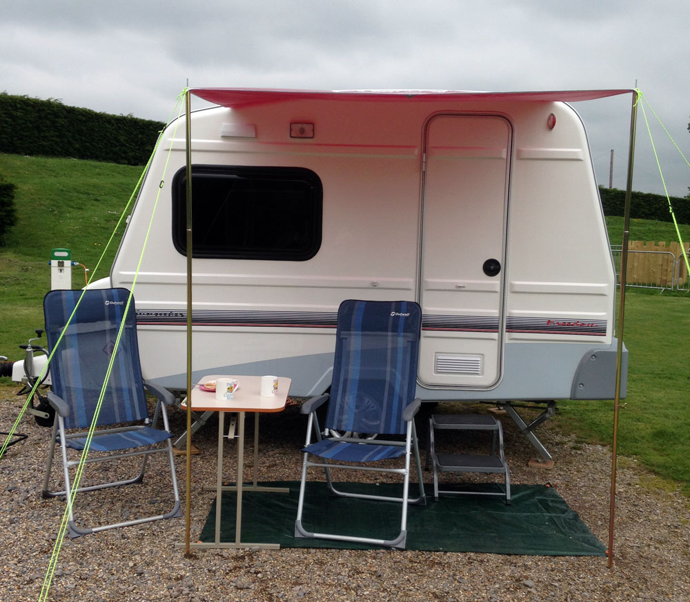 2m X 15m Sun Canopy Made For Freedom Sunseeker Caravan