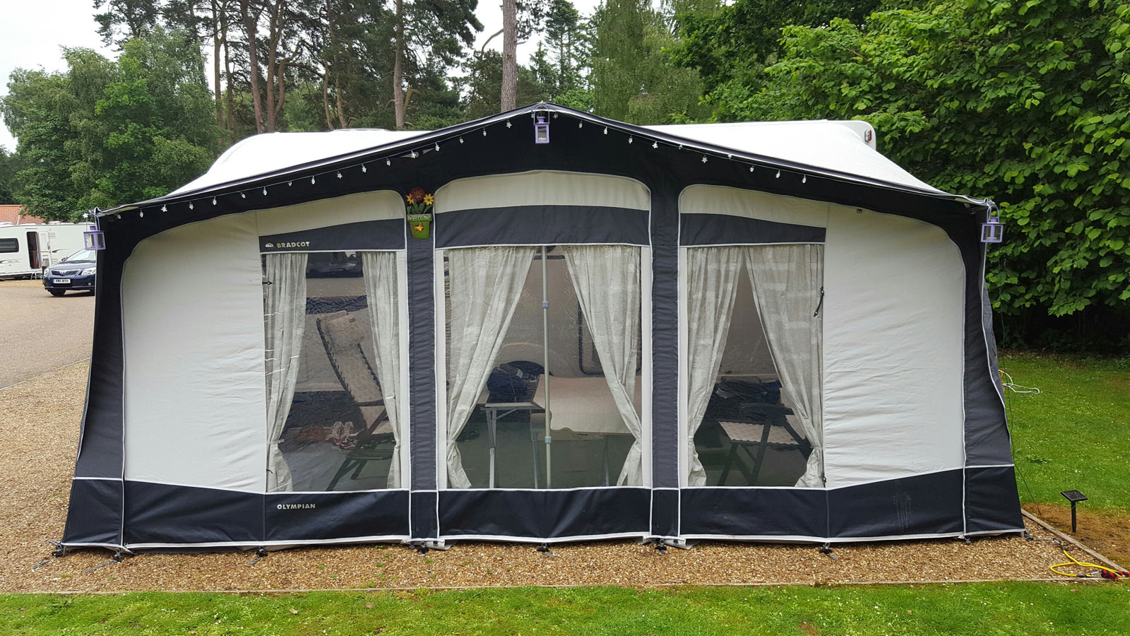 Bradcot Olympian Awning Increased By 2 Sizes